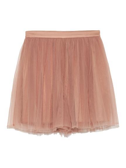甜美絹紗短褲