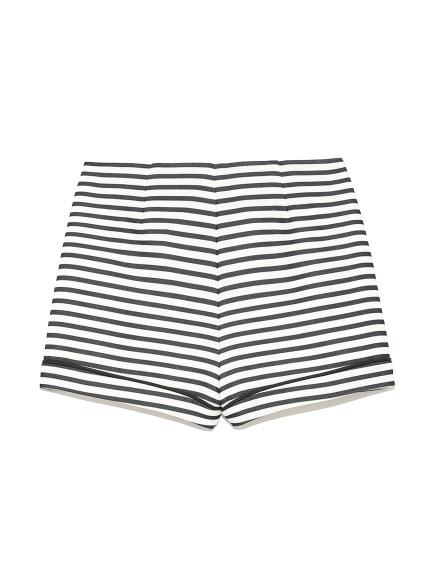 造型條紋短褲