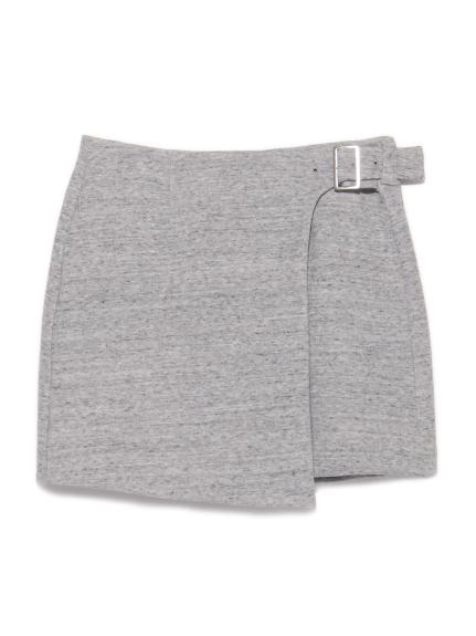 假腰帶造型短裙
