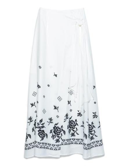 個性雕花造型長裙