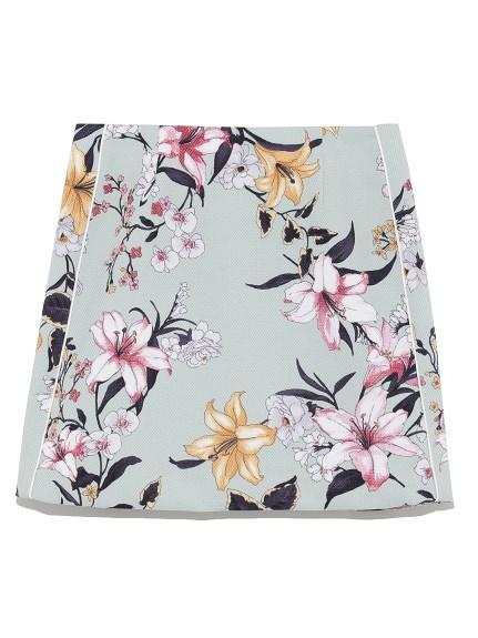 花卉造型短裙