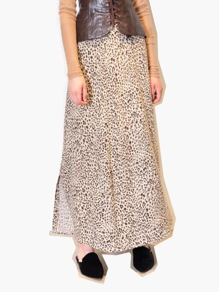 個性印花造型長裙