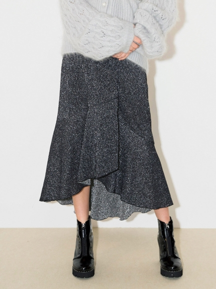 優雅剪裁魚尾裙