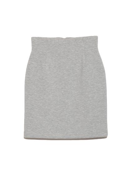 純色窄版短裙