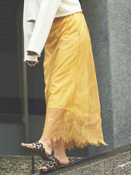 優雅蕾絲長裙