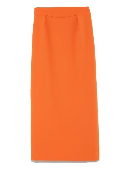 排釦造型緊身裙
