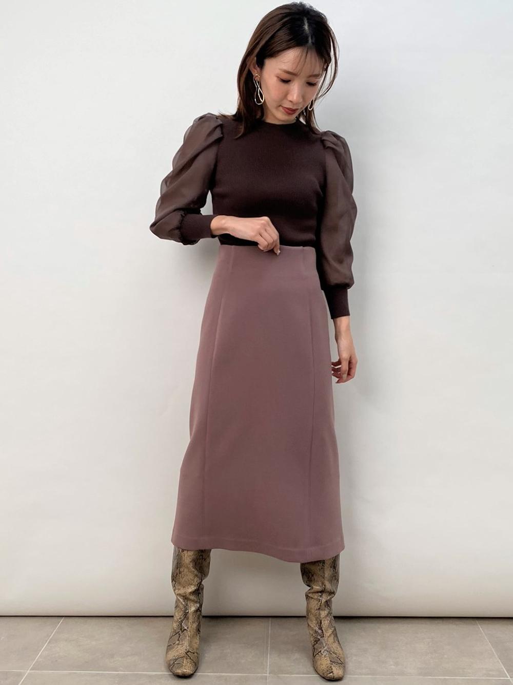 鉛筆長窄裙