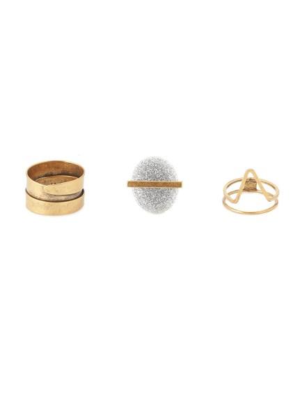 造型戒指三件組