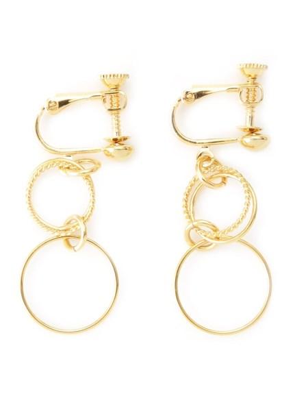 金屬圓環耳夾