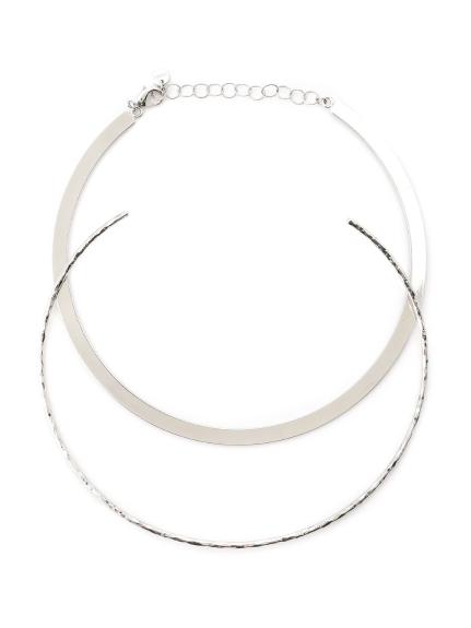 金屬圓環短項鍊