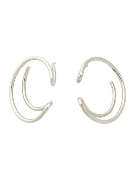 圓弧形耳環