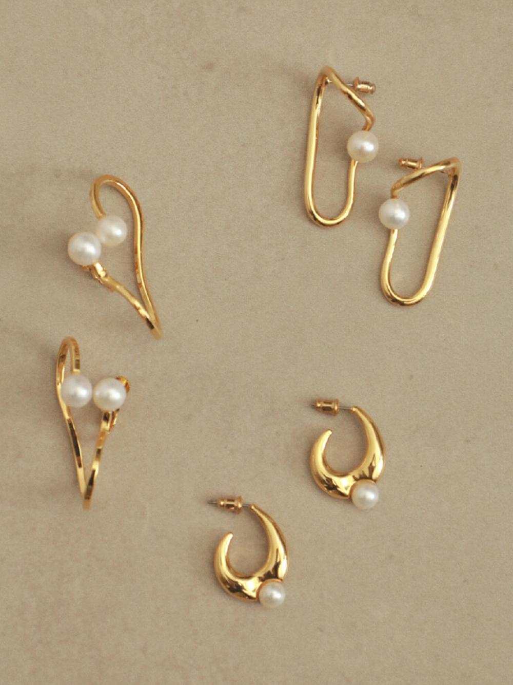 淡水珍珠耳環