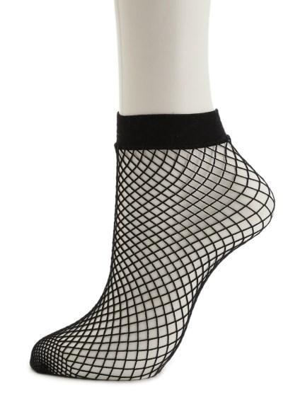 造型網眼襪