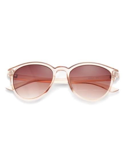 波士頓框型半透明太陽眼鏡