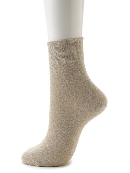 素色中長襪
