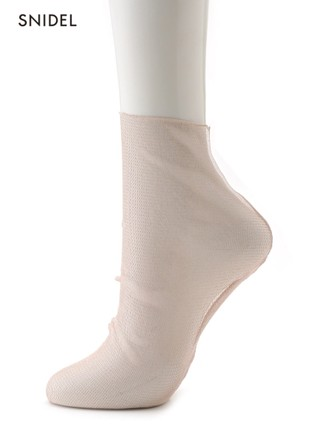 薄紗透膚短襪