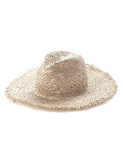 率性剪裁草帽