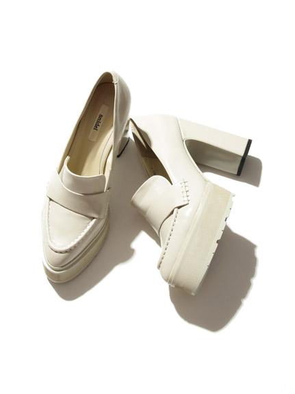 經典厚底高跟鞋