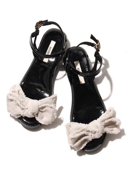 立體蝴蝶結涼鞋