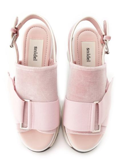 休閒厚底涼鞋