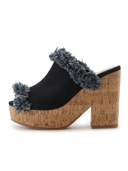 厚底設計感高跟涼鞋