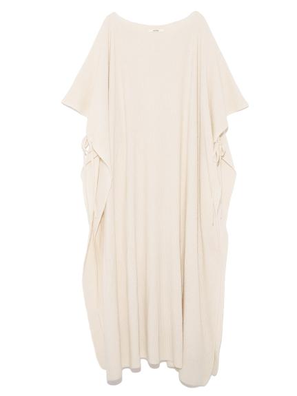 斗蓬風針織長版連身裙