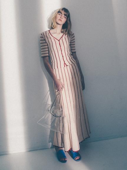 復古鉤針針織衣裙組合