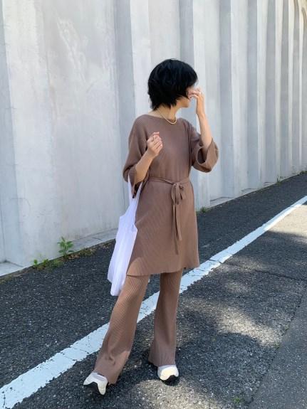 羅紋針織套裝