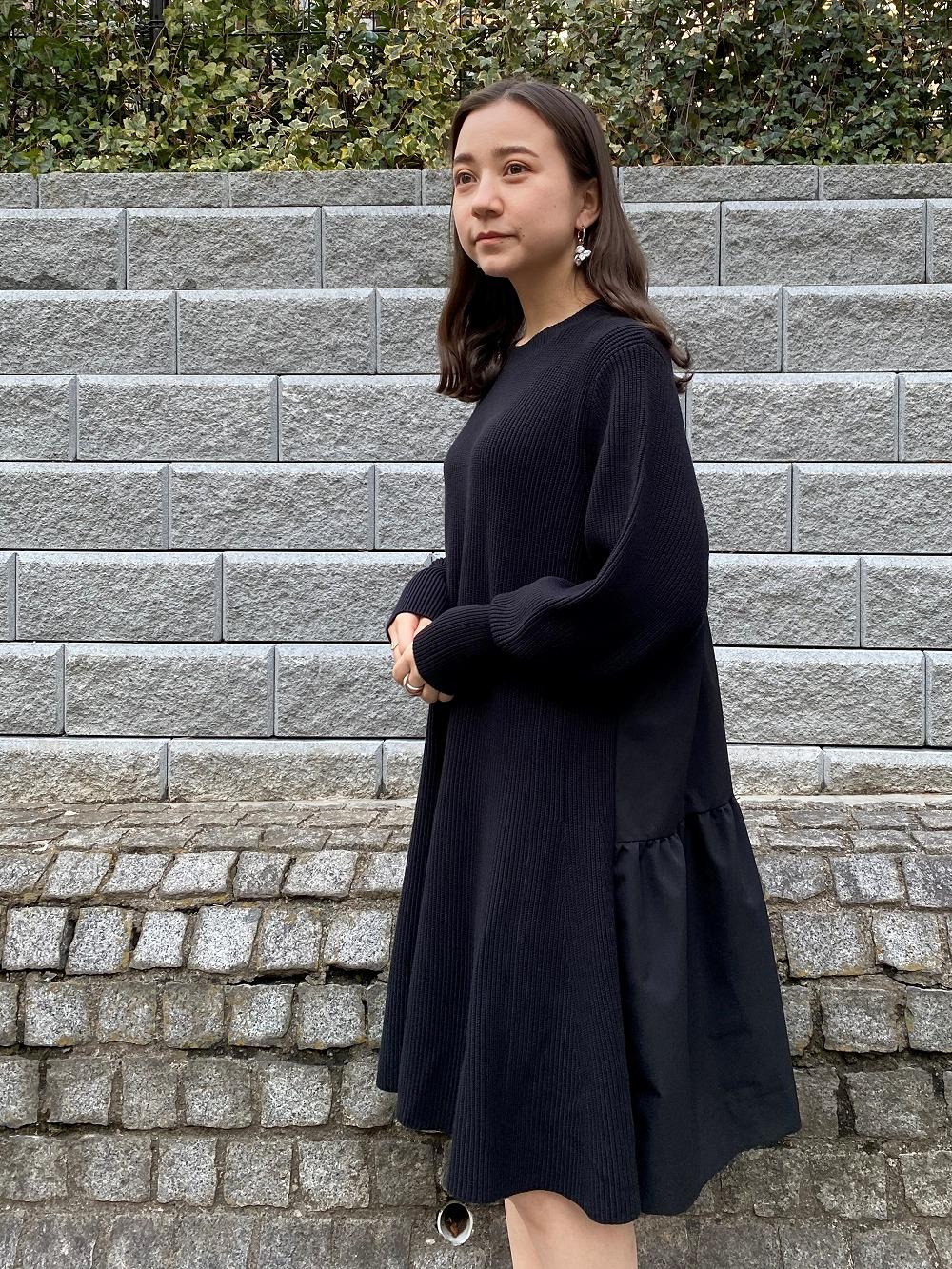 Sustaina針織短版連身裙