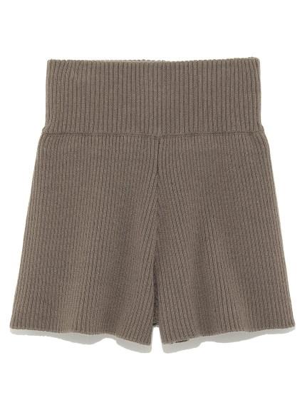 羅紋剪裁短褲