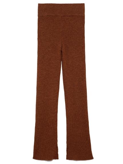 混紗針織長褲