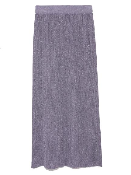 金蔥感針織長裙