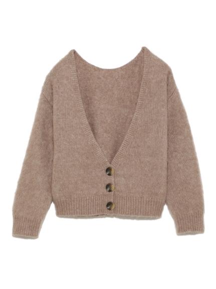 羊毛針織開襟衫