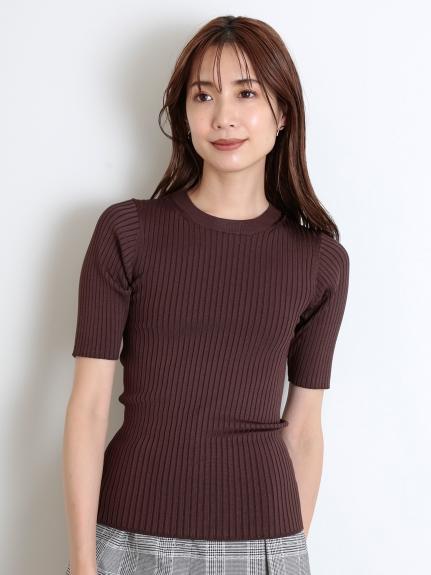 Sustaina半袖羅紋針織上衣