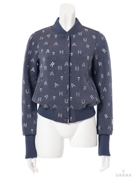 LOGO刺繡字母棒球外套