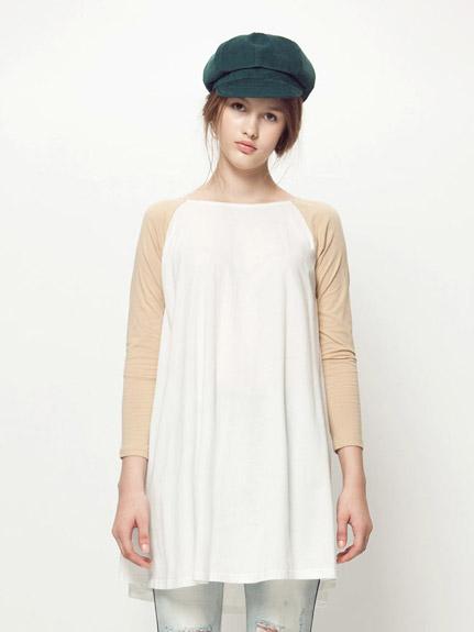 寬鬆長袖洋裝