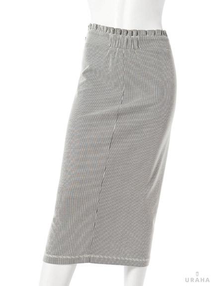 知性高腰長窄裙
