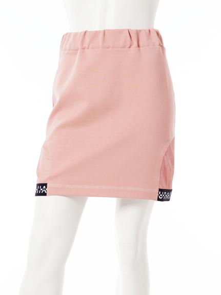 LOGO滾邊短裙