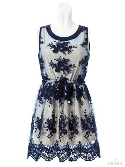 氣質名媛風蕾絲洋裝