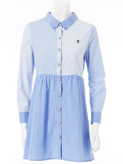 襯衫式造型洋裝
