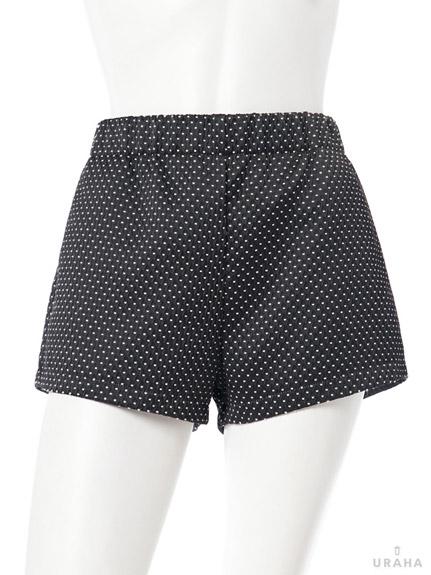 清新感立體菱紋短褲