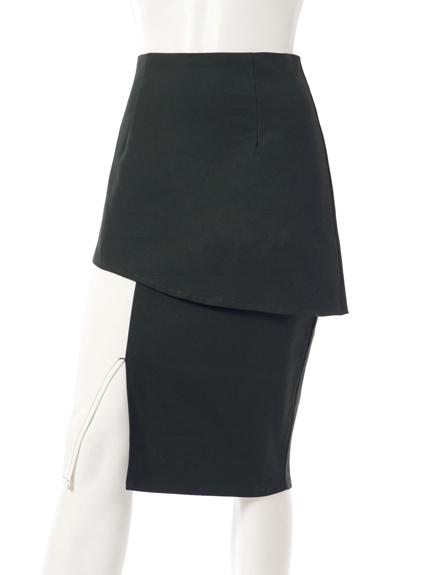 拼接造型裙